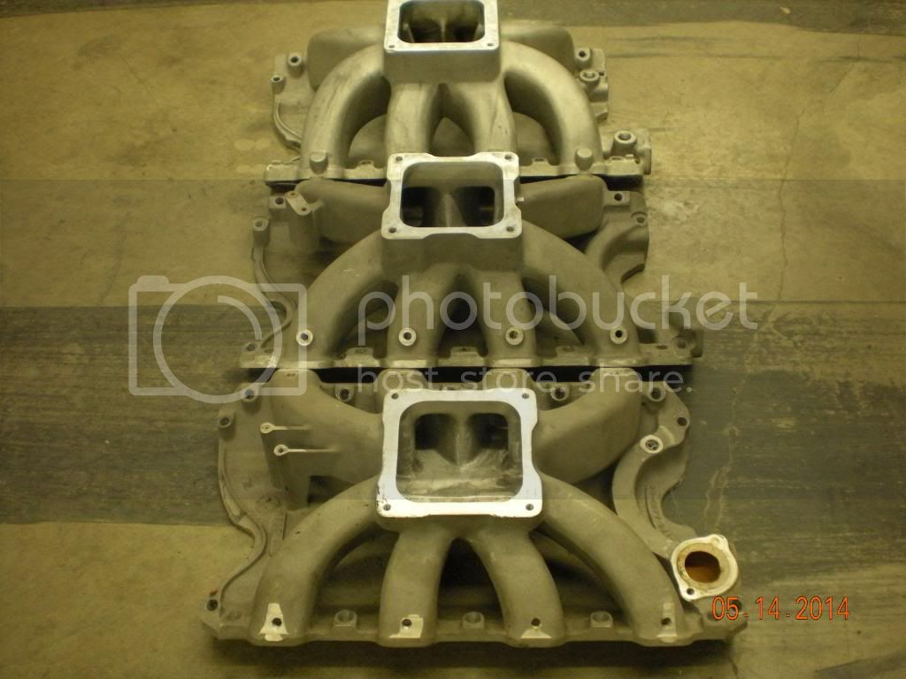 how many diff intakes for A460 single 4 Intakes009