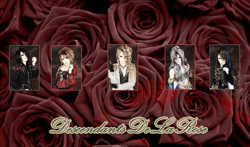 Descendants de la rose~