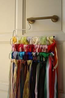 Organizzare fili, gomitoli, nastri e stoffe 23u1mzc