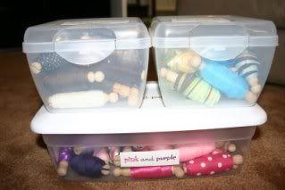 Organizzare fili, gomitoli, nastri e stoffe 2rn7jer