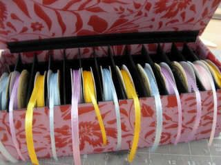 Organizzare fili, gomitoli, nastri e stoffe Kali0o