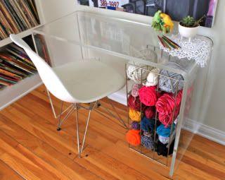 Organizzare fili, gomitoli, nastri e stoffe N30nk3