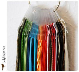 Organizzare fili, gomitoli, nastri e stoffe R21ch1