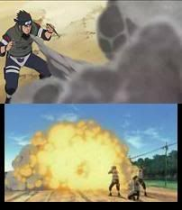 Katon Asuma_using_Fire_Release_Ash_Pile_Burning