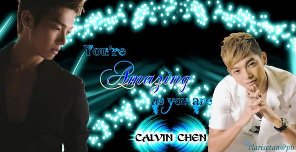 May.21.11 Calvin Chen: Happiness is not difficult, trust your tongue and you can be happy Calvin-2-1