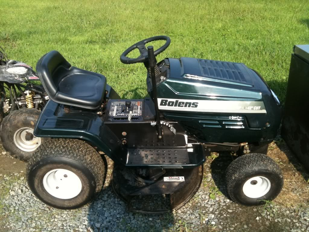 My mower for sale 476e1f4a