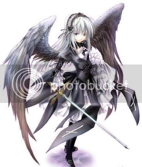 Imagenes de angeles anime y manga DarkAnimeAngel