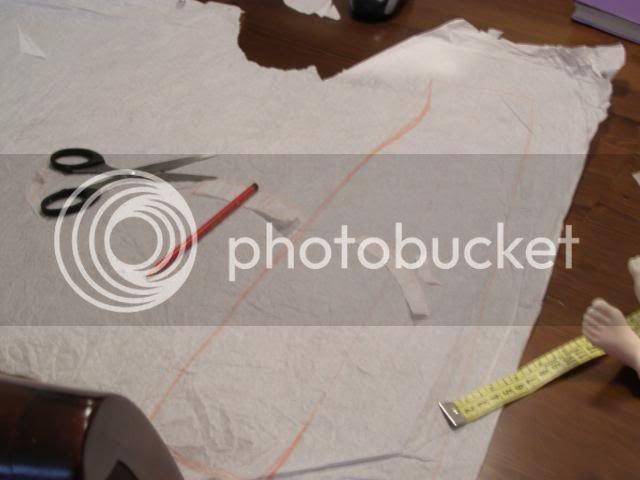 Cómo hacer un Vestido del año 1814 apróx/ Vestido de Regencia. P8120172