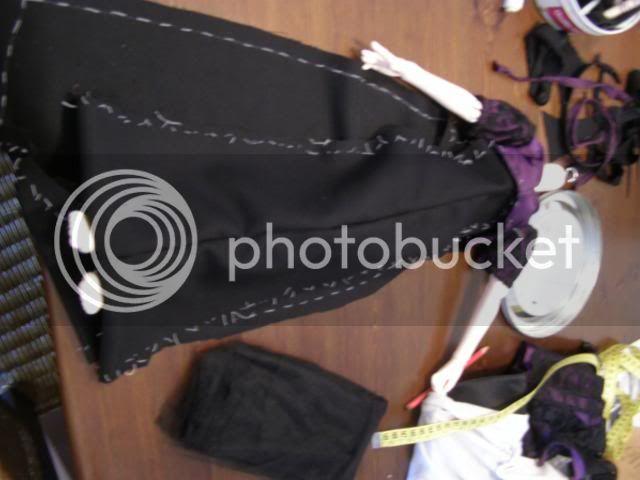 Cómo hacer un Vestido del año 1814 apróx/ Vestido de Regencia. P8140177