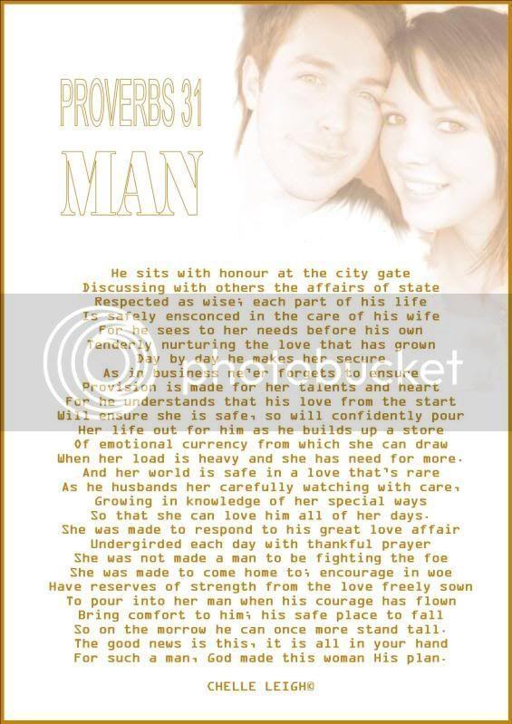 PROVERBS 31 MAN PROVERBS31MAN
