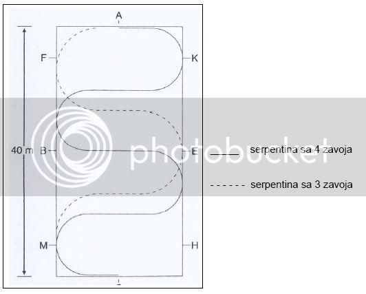"Dresurni programi dokumenti prilagodeni prema ""FEI Rules for dressage events"" SERPENTINE2"