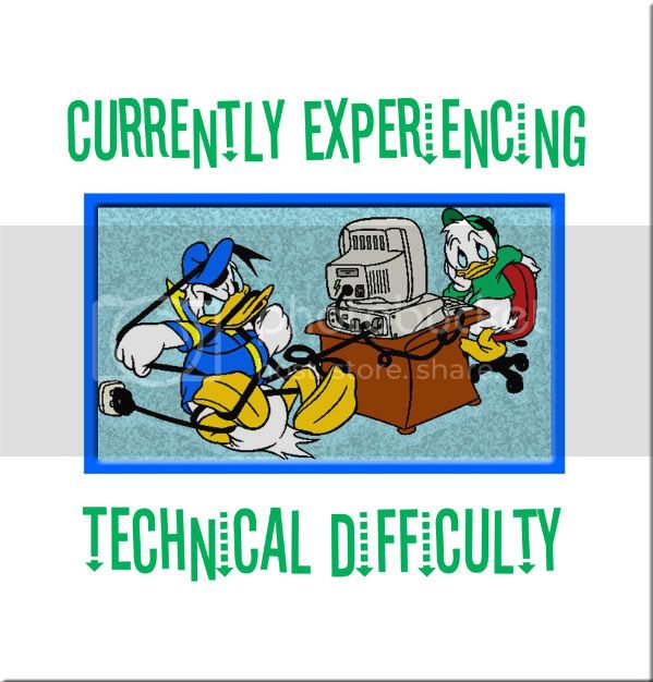 08/08/10 ~ Computer Problems Donaldtechnicaldifficulty