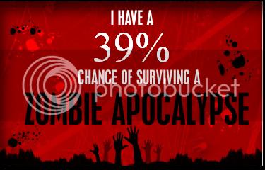 ¿Sobrevivirías a un ataque zombie? Zombie