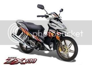 Tentang Kawasaki Kaze Zx130