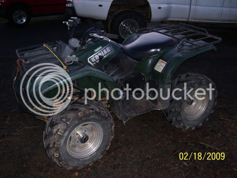 2003 yamaha kodiak 450 for sale--------SOLD 100_2434