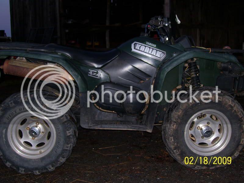 2003 yamaha kodiak 450 for sale--------SOLD 100_2440
