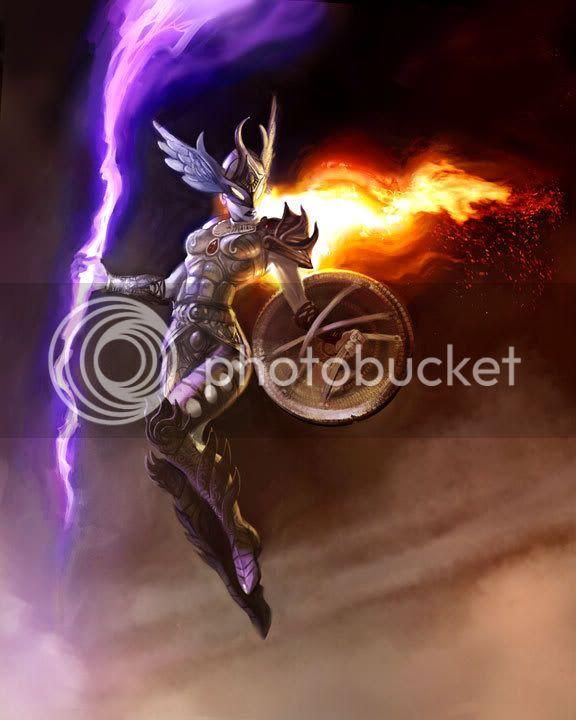 Asgard > Thena Thordottir Valkyrie
