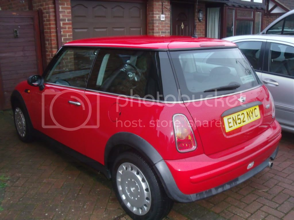 MINI for sale... price lowered - body work being repaired. DSCF9073