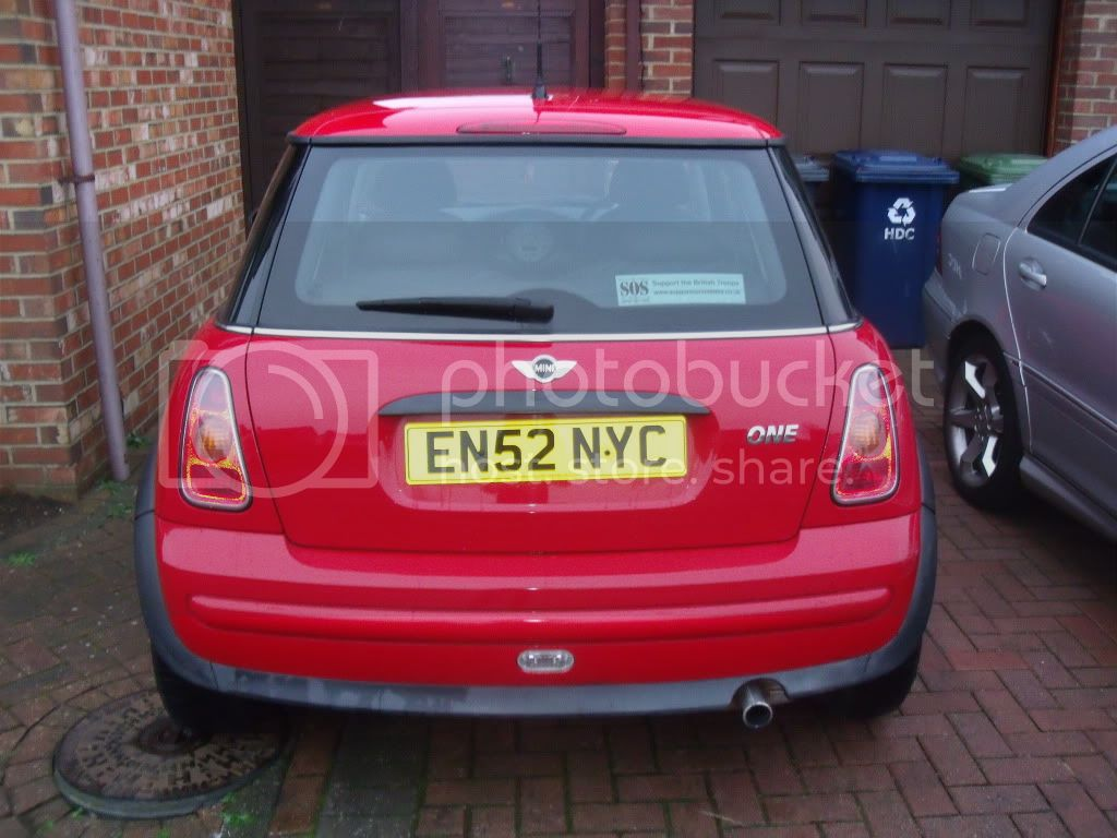 MINI for sale... price lowered - body work being repaired. DSCF9074