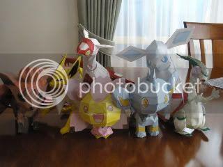 Pokemon Papercraft -My PaperPokemon P1010334-1