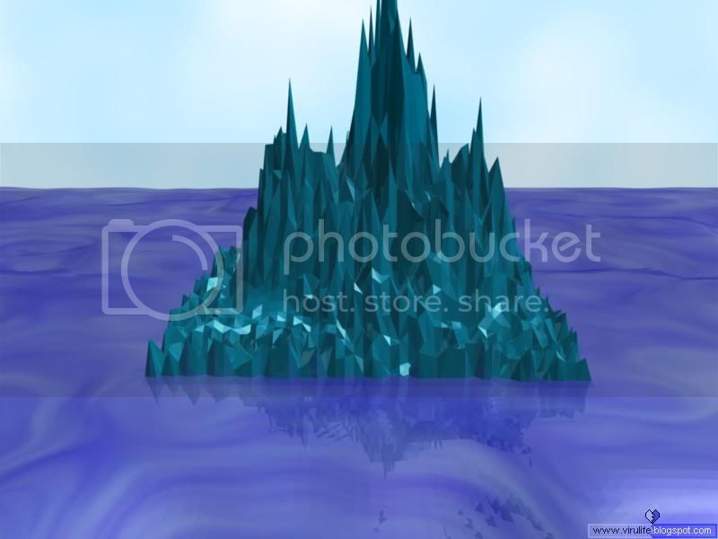 Realm of Vsio's Artwork (3D / 2D) - Page 2 Iceberg_rendered_cr