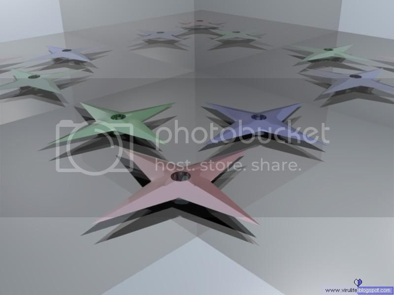 Realm of Vsio's Artwork (3D / 2D) - Page 2 RenderedRGBShuriken_b