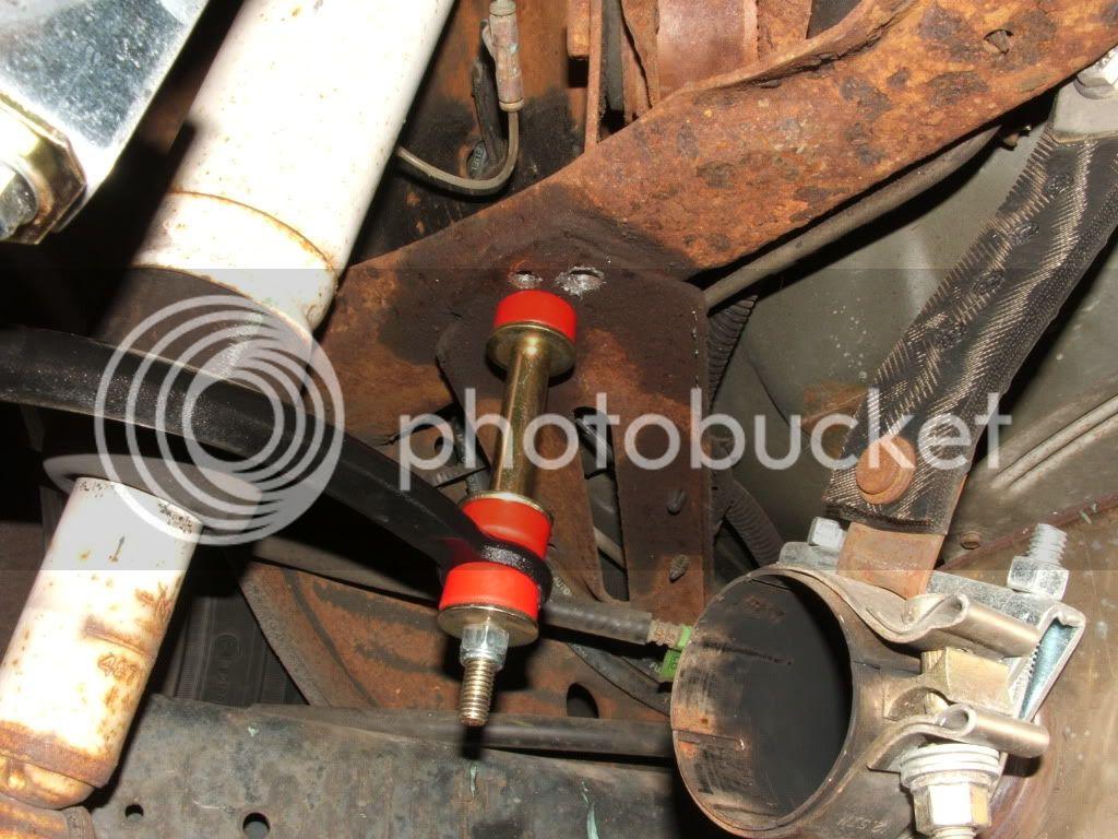 Ford sway bar on a B-body Wagon 42410017