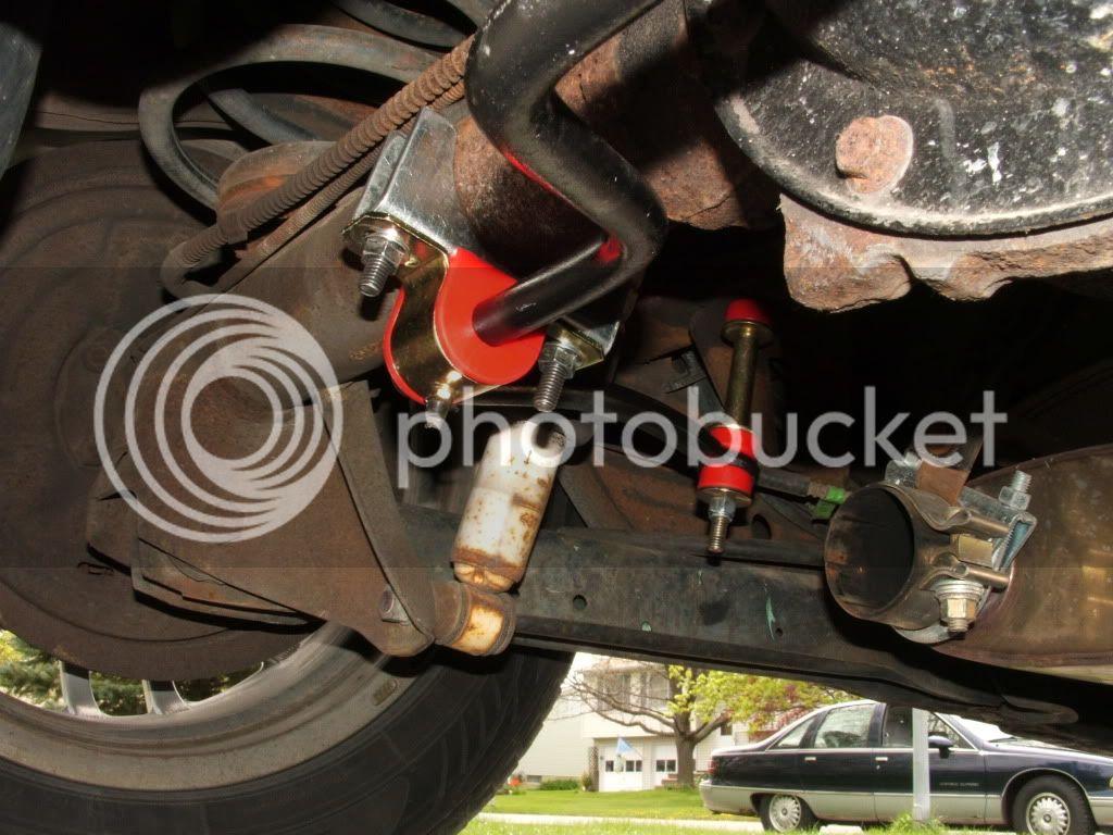 Ford sway bar on a B-body Wagon 42410020