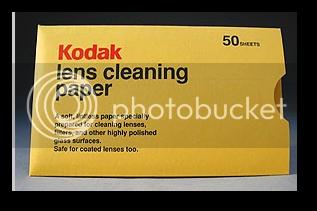 Papier optique Kodak / Tiffen Sshot-25