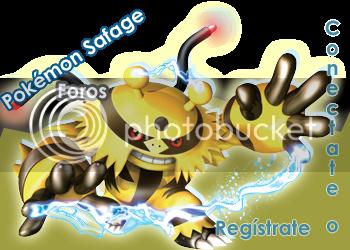 Pokemon Safage Foros - Tu Mejor Lugar!! Conectate