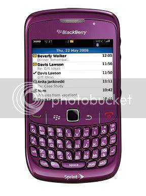 Celulares BlackBerry-Curve-8530-Purple