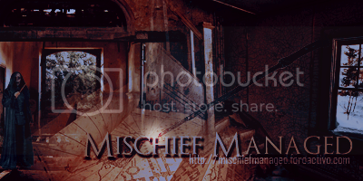 Mischief Managed [Elite] Confirmacion HeaderAficopy