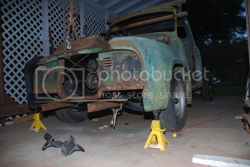 old school ford build thread.. 54fordproject084
