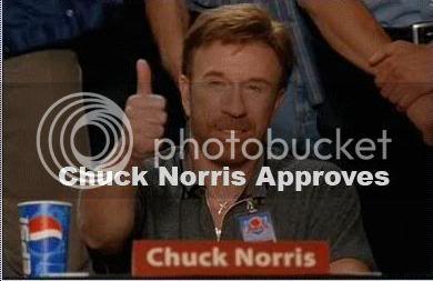 Cenas da Mi *-* Chuck-norris-approves
