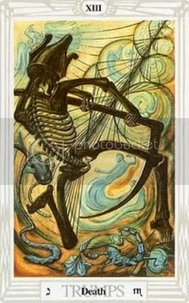 Connecting the DOTS... Deathendsthothtarot
