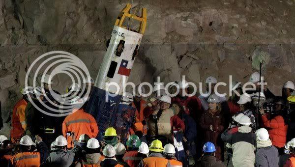 Chilean Miners Saga Rescatados