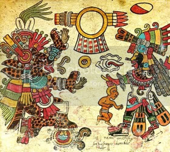 Connecting the DOTS... Tezcatlipoca-quezalcoatl