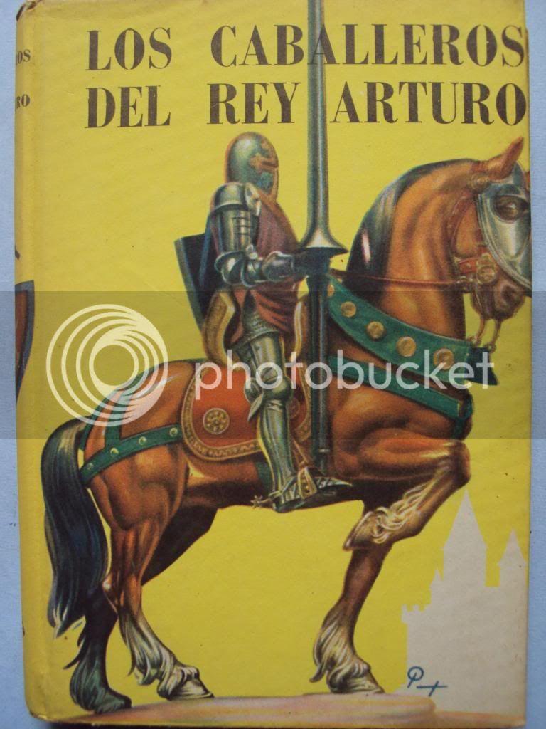 Los Caballeros del Rey Arturo - Cuentos de la Tabla Redonda DSC01909