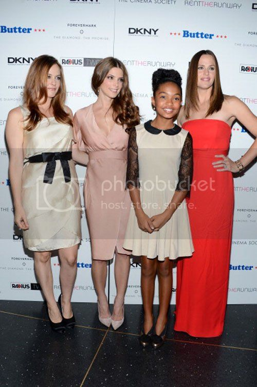 Ashley Greene en la Premiere de Butter en New York 1-9