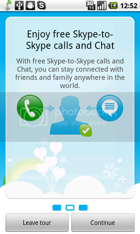 SKYPE pour Android 15oct10skype
