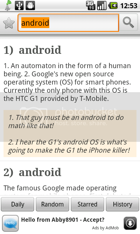 URBAN DICTIONARY - Dictionnaire urbain pour Android 15oct10urban