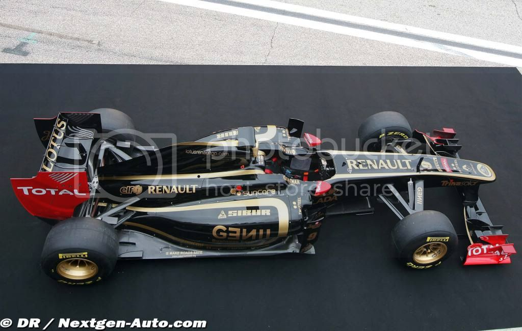 Replica F1 Designs Lotusrenaultgpr31