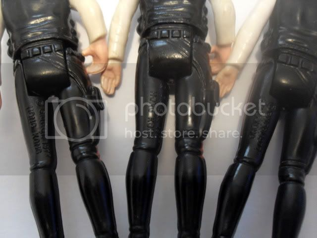How rare is Han Solo (white molded legs)? SDC11935