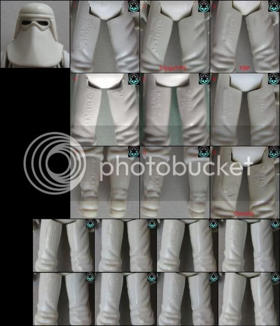 YPS Snowtrooper Variants Snowtrooper