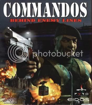 لعبة الاكشن والمهمات الحربية الرائعة Commandos 1 A