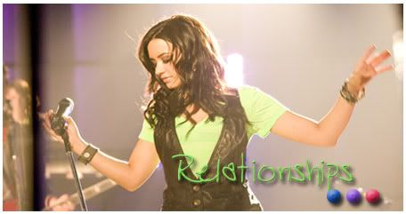 Love Me Or Love Me Not [Dems Lovato Relationships] Rel