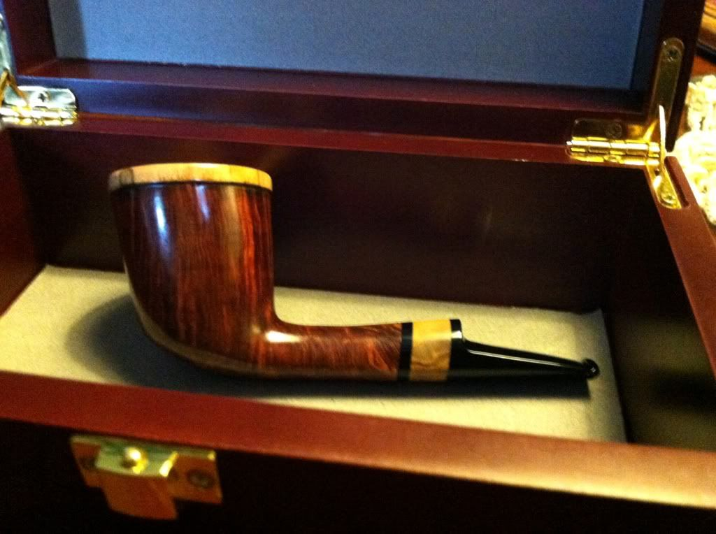 First pipe for 2013 C0EE04CE-1957-4257-BFD3-C6AA0C79D532-29497-00001F4FFE30634B-1