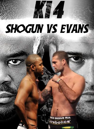 """K1 4 : """"Shogun vs Evans"""" K14"""