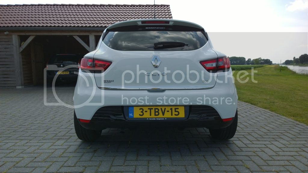 Clio IV 0.9TCE and now Clio IV R.S. - Rik Hamberg Temporary_149
