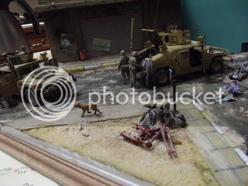 2 hummer M1114 figurine blackdog /dragon/MAIMet robot AFV 1/35 001-4_1